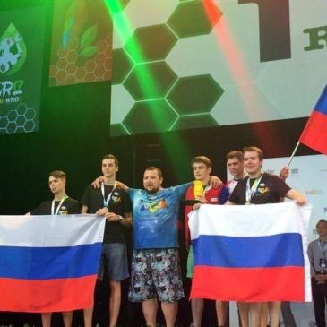 Победа на WRO 2017